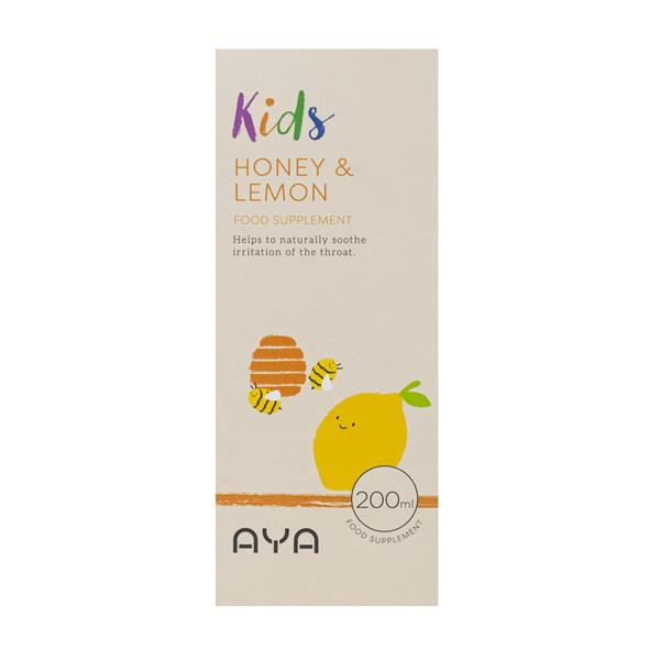 AYA kIds Honey & Lemon food supplement 200ml
