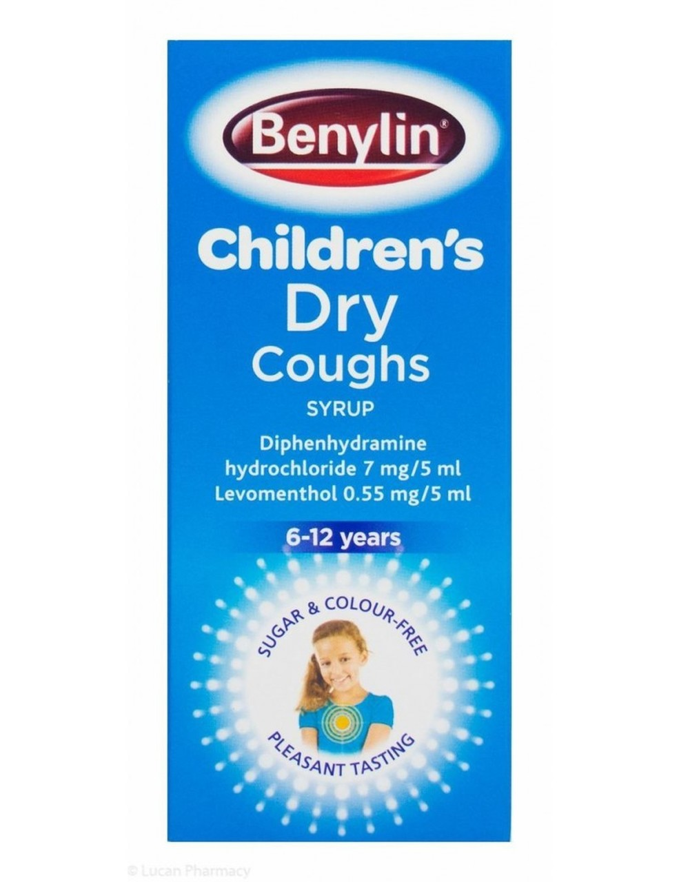 Benylin Childrens Dry Coughs Syrup 6- 12 years  125ml