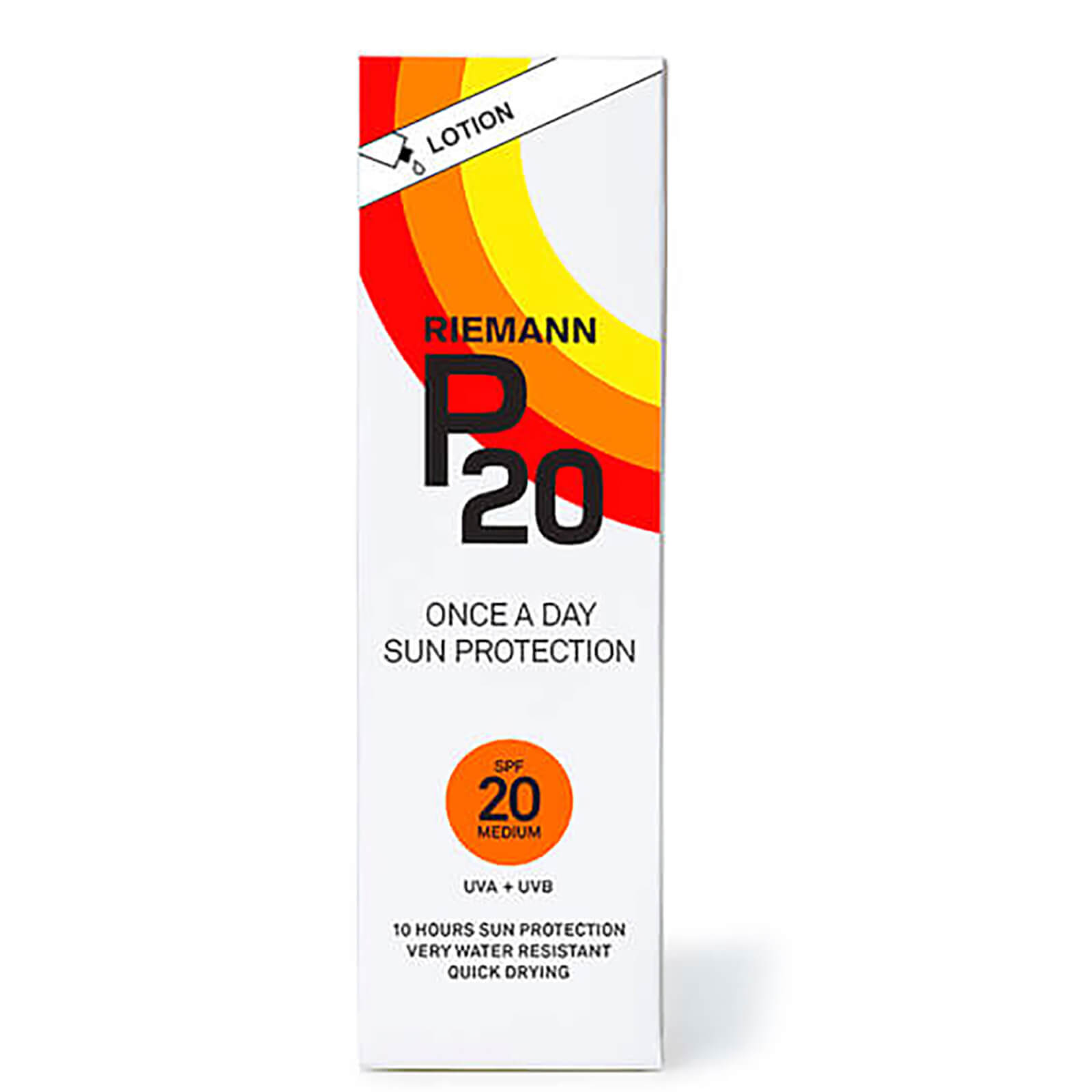 Riemann P20  Seriously Reliable Suncare Lotion SPF20